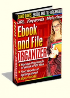 Ebook cover: Ebook and File ORGANIZER