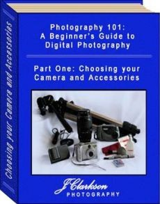 Ebook cover: Photography 101: A Beginner's Guide to Digital Photography