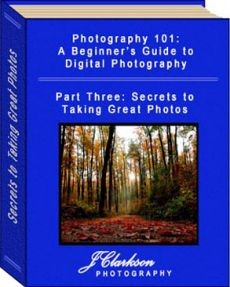 Ebook cover: Photography 101: A Beginner's Guide to Digital Photography - 3