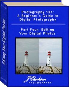 Ebook cover: Photography 101: A Beginner's Guide to Digital Photography - 4