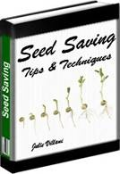 Ebook cover: Seed Saving Tips & Techniques
