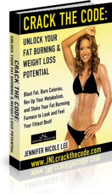Ebook cover: Crack the Code: Unlock Your Fat Burning and Weight Loss Potential