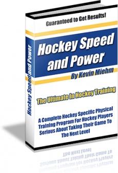 Ebook cover: Hockey Speed & Power