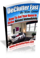 Ebook cover: Declutter Fast: How To Get Your Home In Order