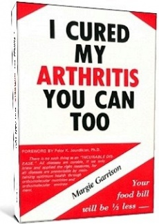 Ebook cover: I Cured My Arthritis You Can Too