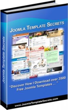 Ebook cover: Joomla Template Secrets