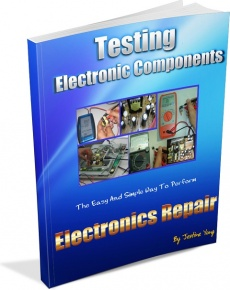 Ebook cover: Testing Electronic Components: How you can test electronic components like a professional?