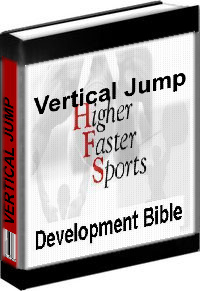 Ebook cover: Vertical Jump Higher Faster Sports