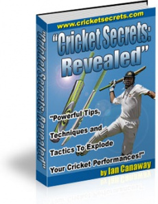 Ebook cover: Cricket Secrets: Revealed
