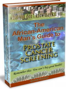 Ebook cover: The African-American Man's Guide To Prostate Cancer Screening