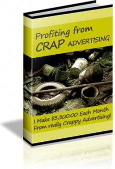 Ebook cover: Profiting from CRAP advertising