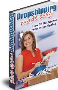 Ebook cover: The Simple Guide To Dropshipping