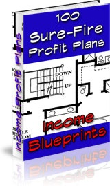 Ebook cover: Income Blueprints