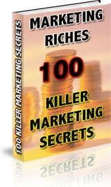 Ebook cover: Marketing Riches