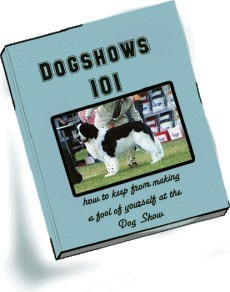 Ebook cover: DOGSHOWS 101