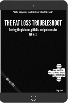 Ebook cover: Fat Loss Troubleshoot
