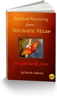Ebook cover: Spiritual Recovery from Narcissistic Abuse