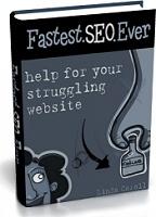 Ebook cover: FASTEST.SEO.EVER