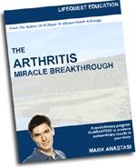 Ebook cover: The Arthritis Miracle Breakthrough