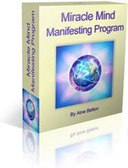 Ebook cover: Miracle Mind Manifesting Program