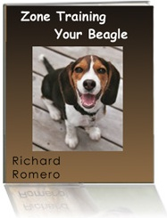 Ebook cover: Zone Training Your Beagle