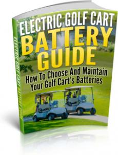Ebook cover: Electric Golf Cart