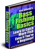 Ebook cover: Bass Fishing Basics