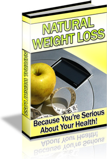 Ebook cover: Natural Weight Loss