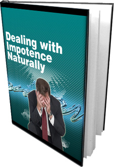 Ebook cover: Dealing with Impotency Naturally