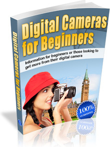 Ebook cover: Digital Cameras for Beginners