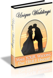 Ebook cover: Unique Weddings