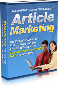 Ebook cover: The Internet Marketer's Guide to Article Marketing