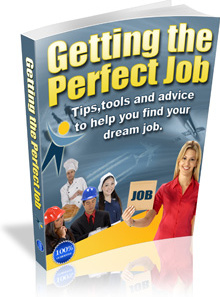 Ebook cover: How to get the perfect job
