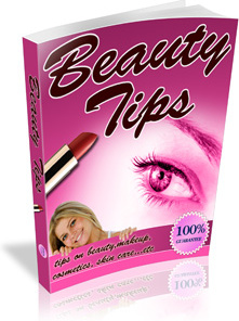 Ebook cover: Health and beauty tips