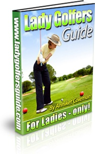 Ebook cover: Lady Golfers Guide