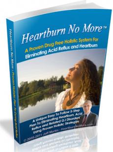 Ebook cover: Heartburn No More