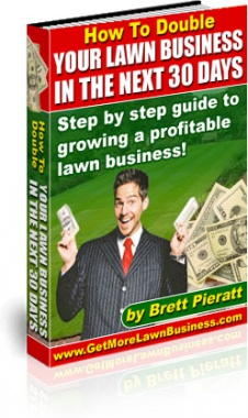 Ebook cover: Your lawn business in the next 30 days