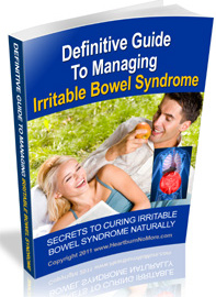 Ebook cover: The Definitive Guide To Managing Irritable Bowel Syndrome