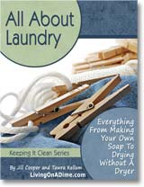 Ebook cover: All About Laundry