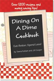 Ebook cover: Dining On A Dime
