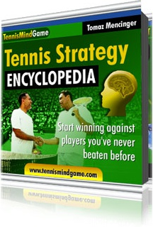 Ebook cover: Tennis Strategy Encyclopedia: Start winning matches against players you've never beaten before