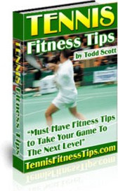 Ebook cover: Tennis Fitness Tips