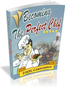 Ebook cover: Becoming The Perfect Chef