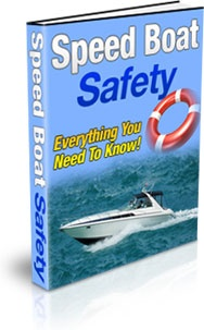 Ebook cover: Speed Boat Safety