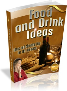 Ebook cover: Good Food and Drink Ideas