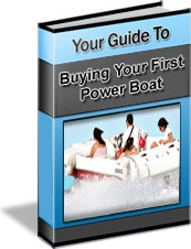 Ebook cover: Guide To Buying Your First Powerboat
