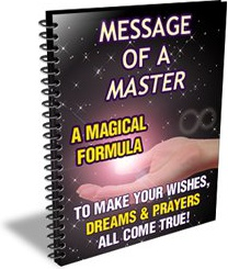 Ebook cover: Message of a Master