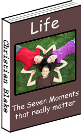 Ebook cover: The Seven Moments that really matter