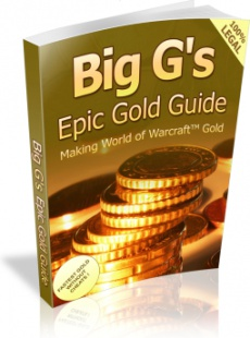 Ebook cover: Big G's Epic Gold Guide