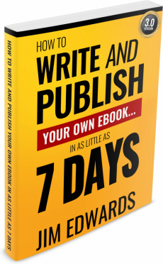 Ebook cover: How to write and publish your own ebook